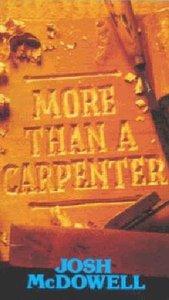 More Than a Carpenter (Large Print)