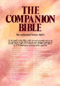 KJV Companion Bible, the Burgundy