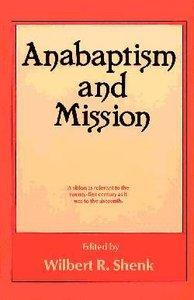 Anabaptism & Mission