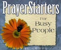 Prayer Starters For Busy People
