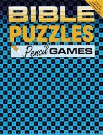 Bible Puzzles: Pencil Games