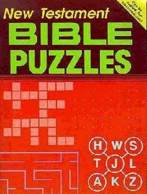 Bible Puzzles: New Testament Ages 10+