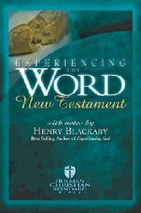 HCSB New Testament Experiencing the Word Burgundy Gift Edition With Study Notes