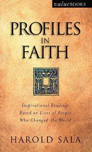 Profiles in Faith