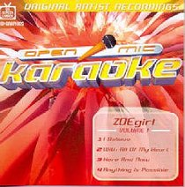 Karaoke Zoe Girl (Accompaniment) (Vol 1)