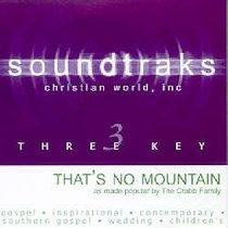 Thats No Mountain (Accompaniment)