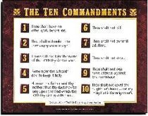 picture about Kjv Ten Commandments Printable titled Rose Glen North Dakota Check out Individuals The 10 Commandments Kjv