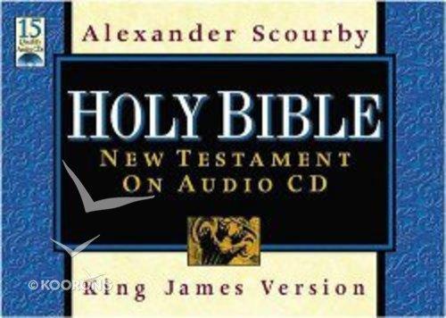 KJV Scourby New Testament on Audio CD (Supersaver)
