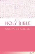 KJV Holy Bible Pink Paperback