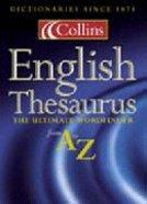 Collins Thesaurus Hardback