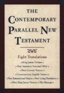 Kjv/Nasb/Ncv/Cev/Niv/Nlt/Nkjv/Msg Contemporary Parallel New Testament