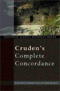 Cruden's Compact Concordance Hardback