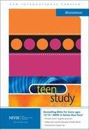 NIV Teen Study Bible Italian Orange/Pink Suede Duo-Tone (2004) Imitation Leather