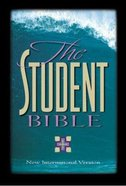 NIV Student Bible Black Indexed Bonded Leather