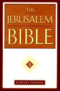 The Jerusalem Bible (Reader's Edition)
