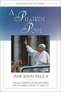 A Pilgrim Pope