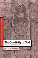 The Creativity of God Paperback