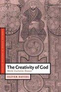 The Creativity of God Paperback