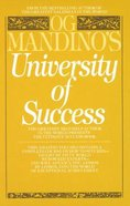 University of Success Paperback