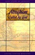 Abraham Called By God Hardback