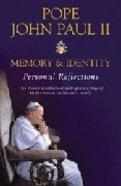 Pope John Paul II: Memory and Identity Paperback