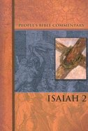 Isaiah 2 (People's Bible Commentary Series) Paperback