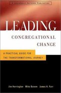 Leading Congregational Change Hardback