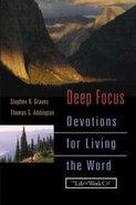 Deep Focus Hardback