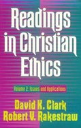Readings in Christian Ethics (Vol 2) Paperback
