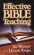 Effective Bible Teaching Paperback