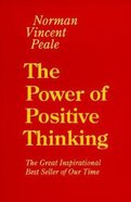 The Power of Positive Thinking (Large Print) Paperback
