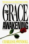 Grace Awakening (Large Print) Paperback