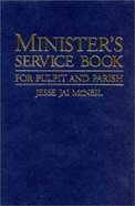 Minister's Service Book Paperback