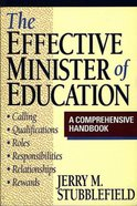 The Effective Minister of Education Paperback