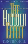 The Antioch Effect Paperback