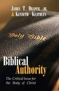 Biblical Authority Paperback