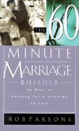 The 60-Minute Marriage Builder Paperback