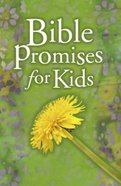 Bible Promises For Kids Paperback