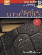 American Literature Teacher Edition (Senior High Level) Paperback