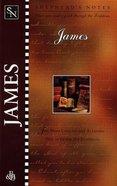 James (Shepherd's Notes Series) Paperback