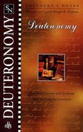 Deuteronomy (Shepherd's Notes Series)