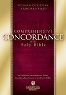 HCSB Holman Comprehensive Concordance (Large Print)