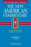 Numbers (#03B in New American Commentary Series)
