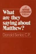 What Are They Saying About Matthew? Paperback