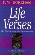 Life Verses #03: Casket of Cameos Paperback