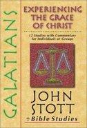 Galatians (John Stott Bible Studies Series) Paperback