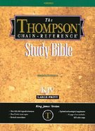 KJV Thompson Chain Reference Large Print Black (Red Letter Edition)