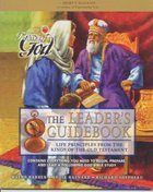 Life Principles From the Kings of the Old Testament (Leader's Guide) (Following God: Character Builders Series) Paperback