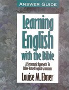 Learning English With the Bible (Answer Guide) Paperback