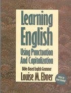 Learning English Using Punctuation and Capitalization Paperback